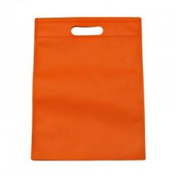 Lot de 12 sacs intissés de couleur orange - 6134