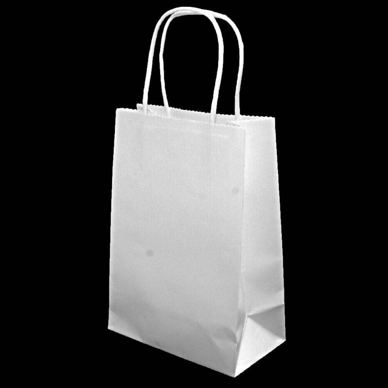 Petit sacs papier kraft pochette kraft blanc emballage - Sac en papier kraft ...