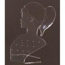 Présentoir boucles d'oreilles transparent - 982