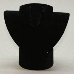 Buste pliable 15 cm en velours - 1022