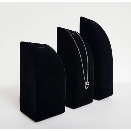 Lot de 3 présentoirs bijoux rectangulaires