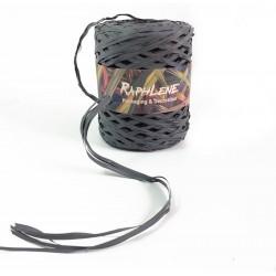Bobine de raphia gris synthétique 200m - 6264
