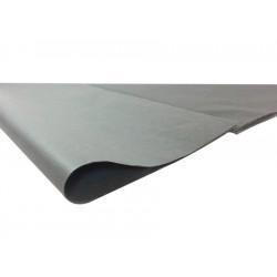 240 feuilles de papier de soie couleur gris - 6276