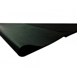 240 feuilles de papier de soie couleur noir - 6275