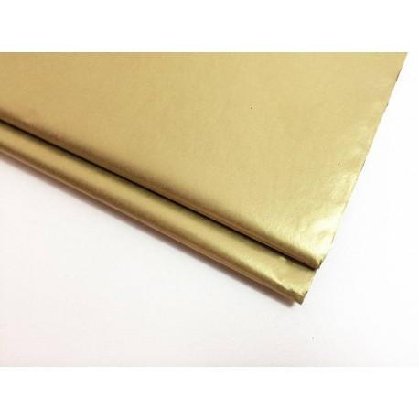 10 feuilles de papier de soie doré - 5950