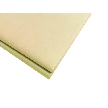 20 feuilles de papier de soie beige sable - 5735