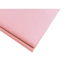 20 feuilles de papier de soie rose pêche - 0912