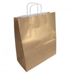 50 sacs en papier kraft de couleur kraft brun