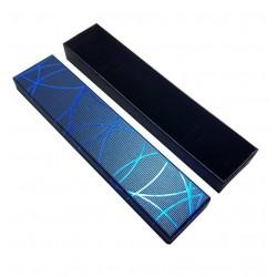 12 écrins bracelets de couleur bleu - 6312