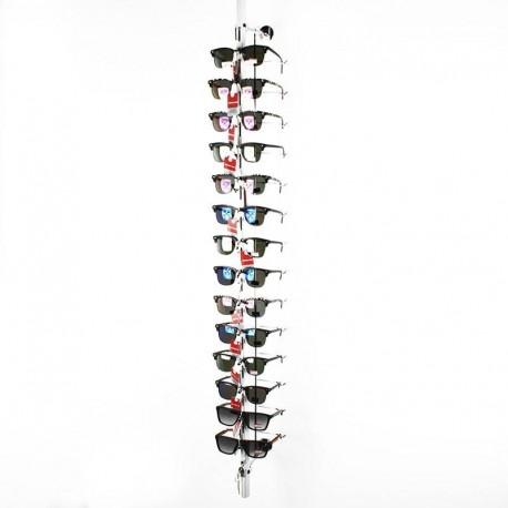Présentoir à lunettes à fixer antivol 14 paires - 6335