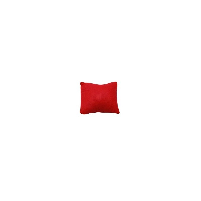 coussin tissu rouge 4605. Black Bedroom Furniture Sets. Home Design Ideas