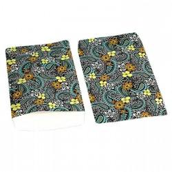 Lot de 100 pochettes cadeaux 24x16cm motifs fleuris - 6396