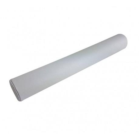 Présentoir jonc en simili cuir blanc pour bracelets 35.5cm - 6475