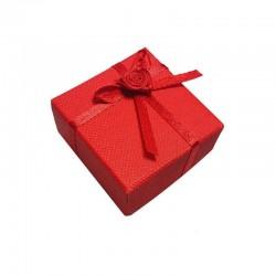 Lot de 120 écrins pour bague de couleur rouge - 3130x5