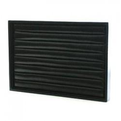 5 baguiers simili cuir noir - 3307x5