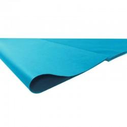 240 feuilles de papier de soie couleur bleu turquoise - 6756