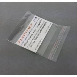 100 sachets de conditionnement autocollants 6.5x9cm - 6760