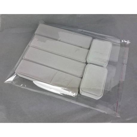 100 grandes poches de conditionnement adhésives 34x29cm - 6765