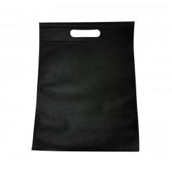 12 sacs non-tissés couleur noir uni - 6770