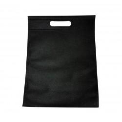 Lot de 12 sacs intissés de couleur noir - 6779