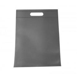 Lot de 12 sacs intissés de couleur gris - 6780