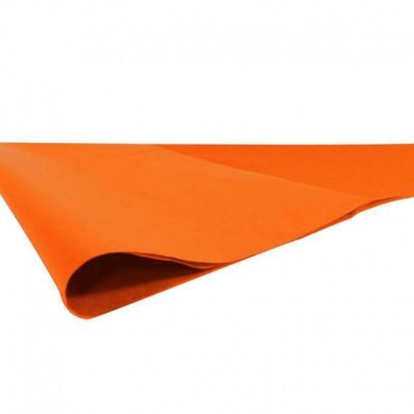 240 feuilles de papier de soie couleur orange - 6805