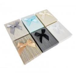 12 écrins cadeaux pour parure 6 couleurs - 10055