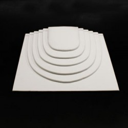 Présentoir chaînes blanc - 2900