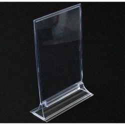 Support en acrylique pour affichette 15x21cm - 6877