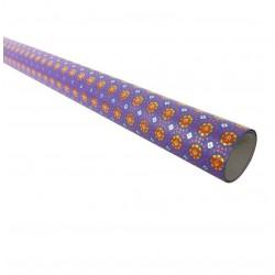 Rouleau de papier cadeaux violet à motifs 70gr - 6963