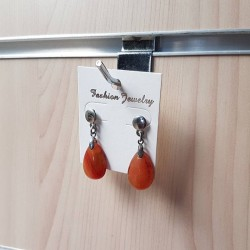 Supports boucles d'oreilles blanc - 790