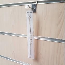 Supports en carton pour chaînes blanc - 1042