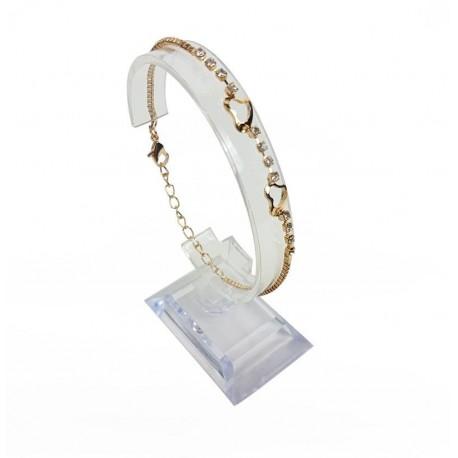 10 supports en acrylique pour montres ou bracelets - 6693