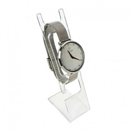 Lot 5 présentoirs bijoux montre-bracelet transparents - 3854