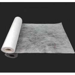 Chemin de table intissé de couleur blanche 10m - 7325