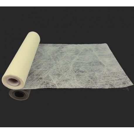 Chemin de table intissé de couleur ivoire 10m - 7326