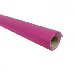 Rouleau de papier cadeaux en kraft rose framboise 60gr 25m - 7346