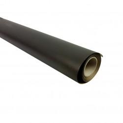 Rouleau de papier cadeaux en kraft noir 60gr 25m - 7350
