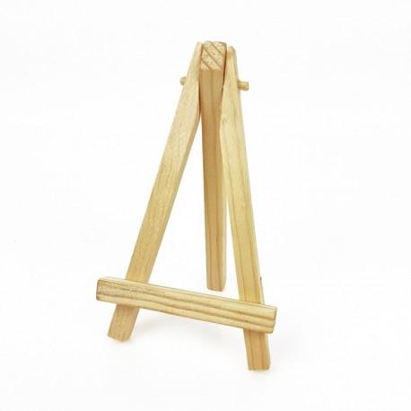Petit chevalet en bois pour affiche 12cm - 7440
