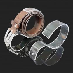 Présentoir ceinture en acrylique transparent - 7451
