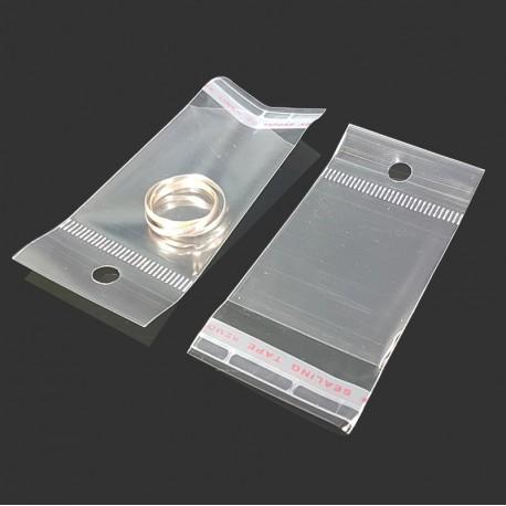 1000 petits sachets adhésifs perforés 4x5cm - 7442