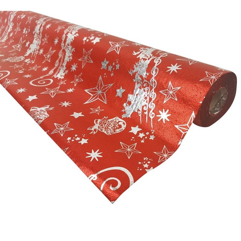 Rouleau Papier Cadeaux Rouge Rouleau Papier Cadeaux Rouge Brillant