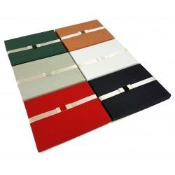6 écrins parures 6 couleurs avec noeud - 10074