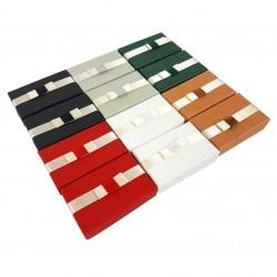 24 écrins parures 6 couleurs avec noeud papillon - 10073