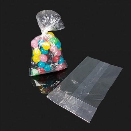 100 petits sachets cellophane alimentaire 7x13cm - 7575
