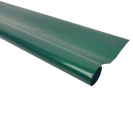Rouleau de papier cadeaux vert sapin métalisé - 7598