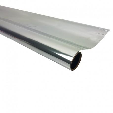 Rouleau de papier cadeaux argenté métalisé - 7601