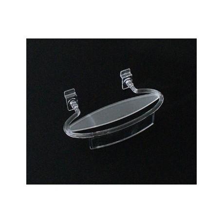 Présentoir à chaussure en acrylique transparent - 1208