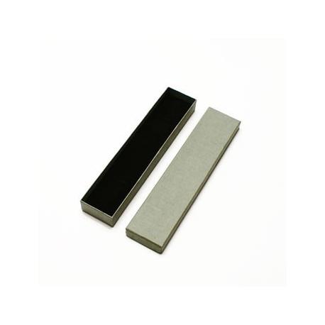 Lot de 60 écrins pour bracelet de couleur grise - 10010x5