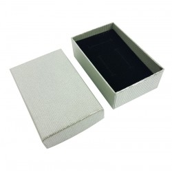 120 écrins à bijoux gris-vert pour parures - 10078x5